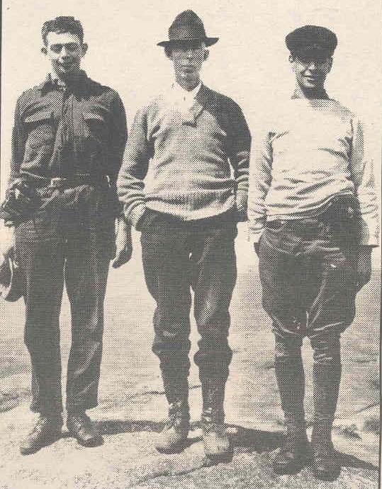 Bob Marshall, Herbert Clark and George Marshall